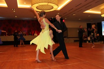 Fun at Ballroom Dance Competition