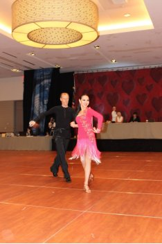 Houston Ballroom Dance Studio dancers