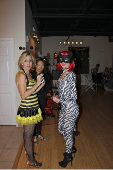 Bumble Bee and Cat Dancer